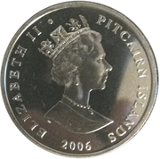 1 Dollar - Elizabeth II (80th Birthday of Queen Elizabeth II) – obverse