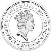 2 Dollars - Elizabeth II (Pelican Eel) – obverse