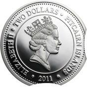 2 Dollars - Elizabeth II (Fangtooth Fish) – obverse
