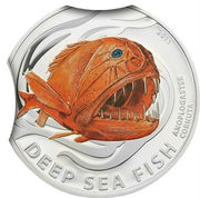 2 Dollars - Elizabeth II (Fangtooth Fish) – reverse