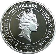 2 Dollars - Elizabeth II (Lifetime of Service) – obverse
