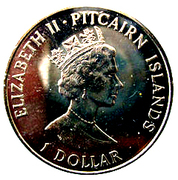 1 Dollar - Elizabeth II (Drafting of the Constitution) – obverse