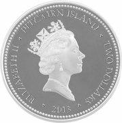 2 Dollars - Elizabeth II (Coconut crab) – obverse