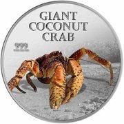 2 Dollars - Elizabeth II (Coconut crab) – reverse