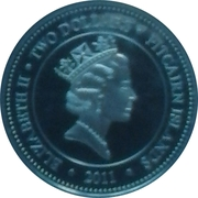 2 Dollars - Elizabeth II (Black Sea Nettle) – obverse