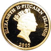 5 Dollars - Elizabeth II (Bounty Bible) – obverse