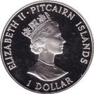 1 Dollar - Elizabeth II (HMAV Bounty) – obverse