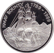 1 Dollar - Elizabeth II (HMAV Bounty) – reverse