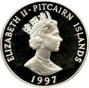 5 Dollars - Elizabeth II (The Queen Mother) – obverse