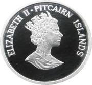 5 Dollars - Elizabeth II (Save the Whales) – obverse