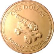 1 Dollar - Elizabeth II (3rd portrait) – reverse