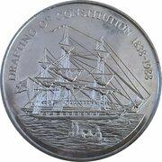 1 Dollar - Elizabeth II (Drafting of the Constitution) – reverse