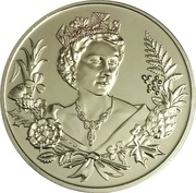 2 Dollars - Elizabeth II (Lifetime of Service) – reverse