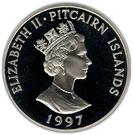 1 Dollar - Elizabeth II (The Queen Mother) – obverse