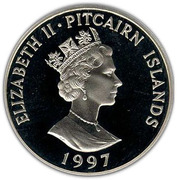 1 Dollar - Elizabeth II (The Queen Mother) – obverse