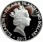 2 Dollars - Elizabeth II (Remembrance Sunday) – obverse