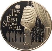 2 Dollars - Elizabeth II (Royal Variety Performance Show) – reverse