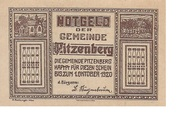 50 Heller (Pitzenberg) -  reverse