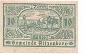10 Heller (Pitzenberg) -  obverse