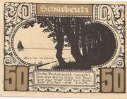 50 Pfennig (Ost-Holsteinisches Tageblatt und Plöner Zeitung) – reverse