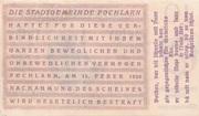 10 Heller (Pöchlarn) – reverse