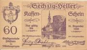 60 Heller (Pöchlarn) -  obverse