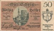 50 Heller (Pöchlarn) -  obverse