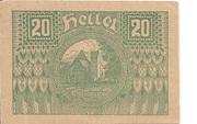 20 Heller (Pöggstall) – obverse