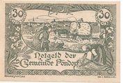 30 Heller (Pöndorf) -  obverse