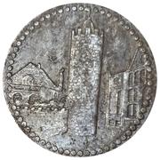 50 Pfennig - Pössneck – reverse