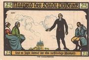 25 Pfennig (Goethe Series - Issue 1) – obverse