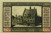25 Pfennig (Goethe Series - Issue 2) – reverse