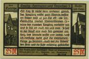 25 Pfennig (Goethe Series - Issue 3) – reverse