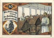 50 Pfennig (Industry Series) – reverse