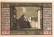 50 Pfennig (Goethe Series - Issue 5) – reverse