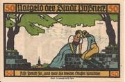 50 Pfennig (Goethe Series - Issue 6) – obverse