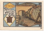 10 Pfennig (Industry Series) – reverse