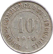10 Centimes (Poissy) – reverse