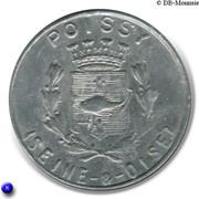 25 Centimes (Poissy) – obverse