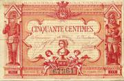 50 centimes - Chambre de Commerce de Poitiers et de la Vienne – obverse