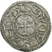 1 Denier - Charles II le Chauve (Melle) – obverse