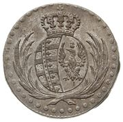 10 Groszy - Friedrich August I (I.B.) – obverse