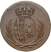 1 Grosz - Friedrich August I (I.S.) – obverse