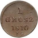 1 Grosz - Friedrich August I (I.S.) – reverse