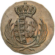 1 Grosz - Friedrich August I (I.B.) – obverse