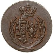 3 Grosze - Friedrich August I (I.S.) – obverse