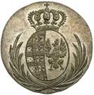 5 Groszy - Friedrich August I (I.S.) – obverse