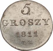 5 Groszy - Friedrich August I (I.B.) – reverse