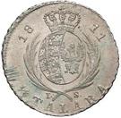 ⅙ Talara - Friedrich August I (I.S.) – reverse