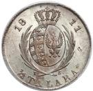 ⅓ Talara - Friedrich August I (I.S.) – reverse